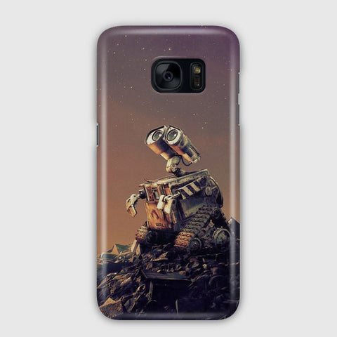 Disney Wall E Artwork Samsung Galaxy S7 Edge Case