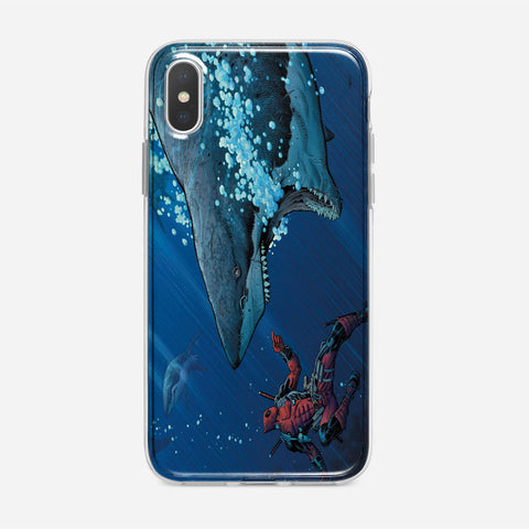 Deadpool Shark iPhone XS Max Case