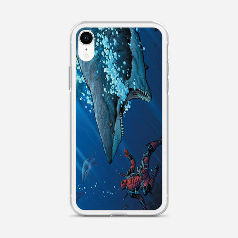 Deadpool Shark iPhone XR Case