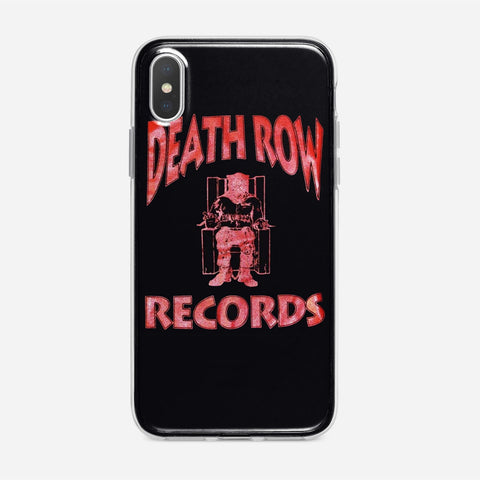 Death Row Records Logo Bleach iPhone XS Max Case