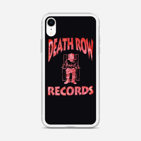 Death Row Records Logo Bleach iPhone XR Case