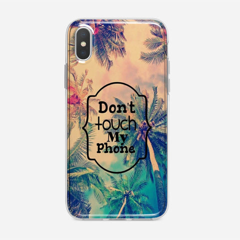 Dont Panic iPhone XS Case