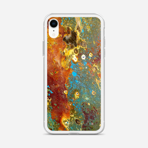 Decay Metal Corrosion iPhone XR Case