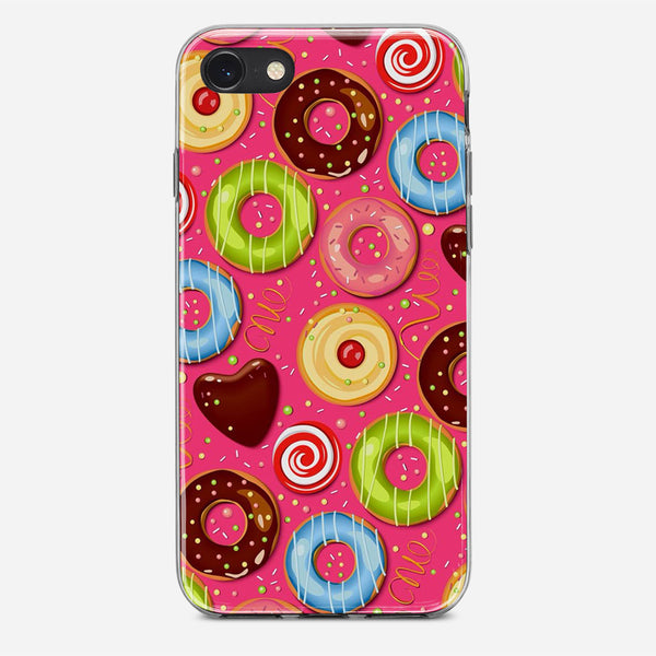 Donut Pattern iPhone X Case