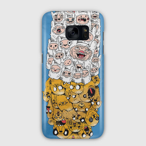 Adventure Time Finn & Jake Samsung Galaxy S7 Edge Case