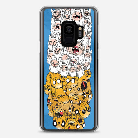 Adventure Time Finn & Jake Samsung Galaxy S9 Case