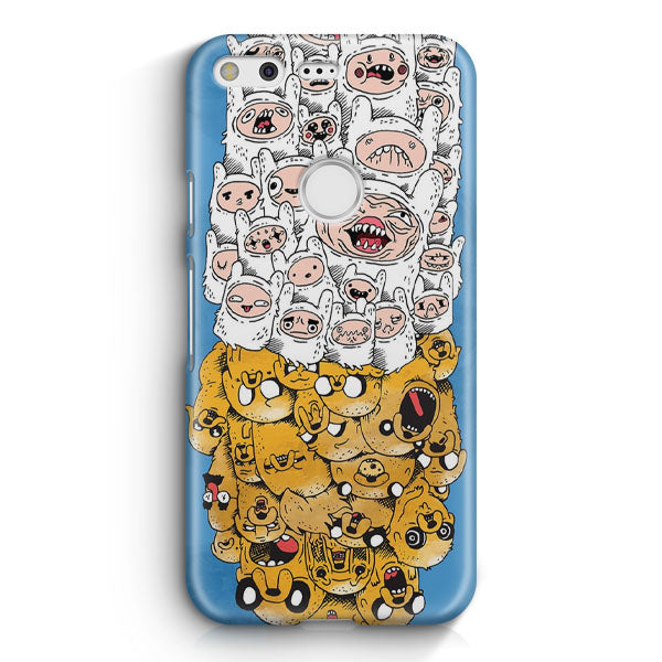 Adventure Time Finn & Jake Google Pixel Case