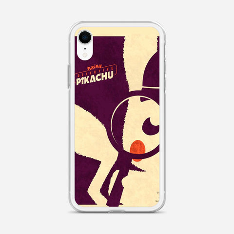 Detective Pikachu iPhone XR Case