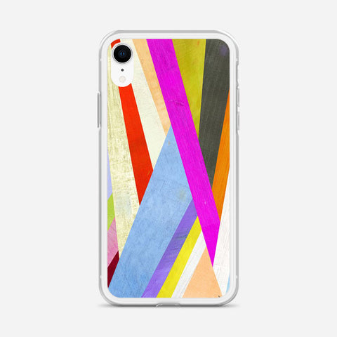 Diagonal Abstract iPhone XR Case