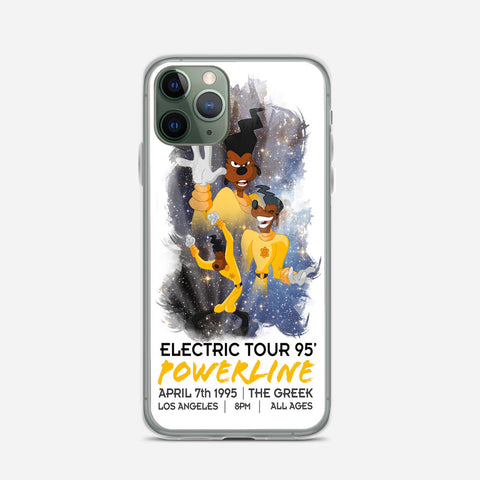 Disney A Goffy Movie Powerline World Tour iPhone 11 Pro Case