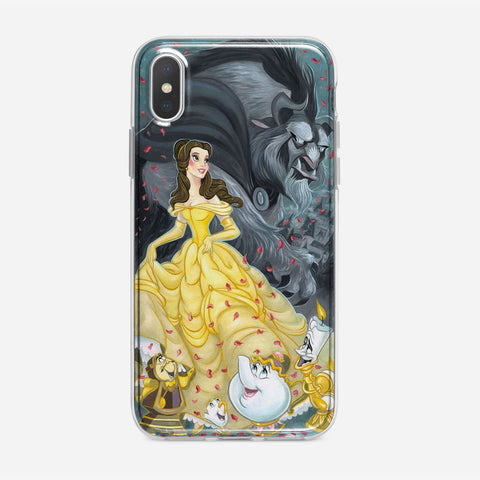 Disney Beauty and the Beast iPhone XS Case