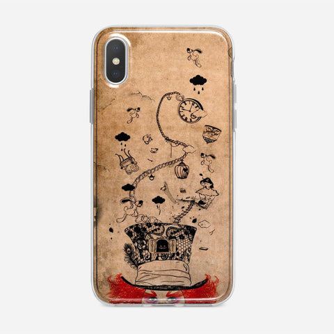 Disney Mad Hatter Art iPhone XS Max Case