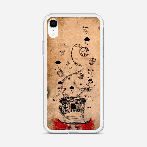 Disney Mad Hatter Art iPhone XR Case