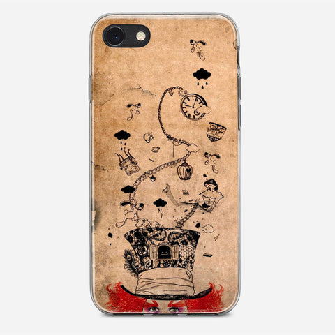 Disney Mad Hatter Art iPhone 8 Case