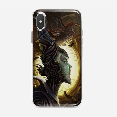 Disney Maleficient Art iPhone XS Max Case