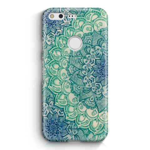 Emerald Mandala Pattern Google Pixel 2 XL Case