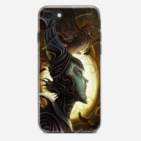 Disney Maleficient Art iPhone 8 Case