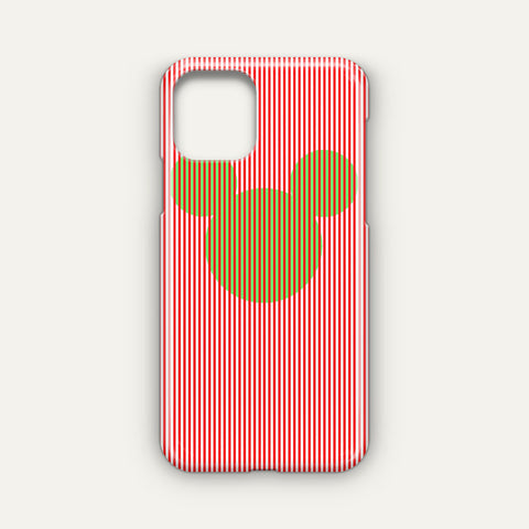 Disney Mickey Candy Cane Stripe Google Pixel 4 XL Case