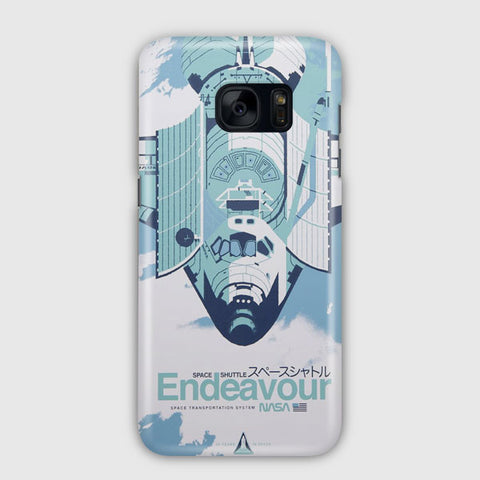 Endeavour Space Shuttle Samsung Galaxy S7 Edge Case