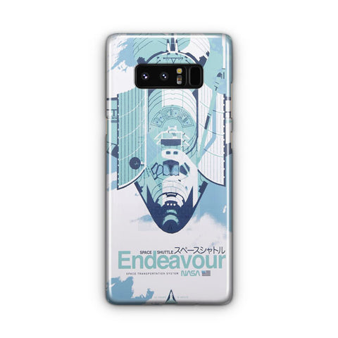 Endeavour Space Shuttle Samsung Galaxy Note 8 Case