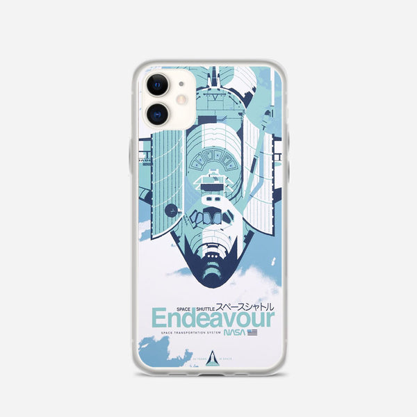 Endeavour Space Shuttle iPhone X Case