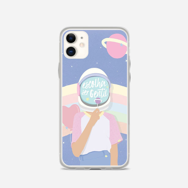 Escolha Ser Gentil iPhone X Case