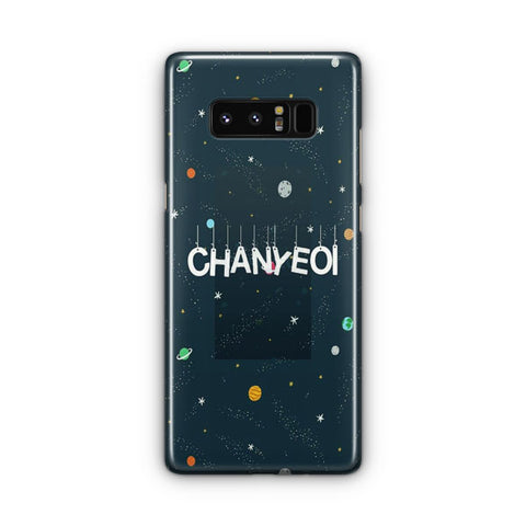 EXO Chanyeoi Samsung Galaxy Note 8 Case