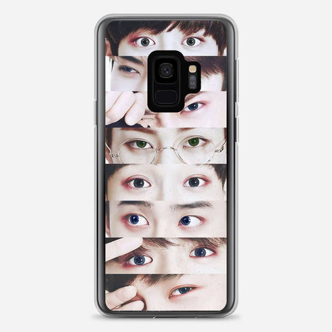 EXO Xiumin s Eyes Samsung Galaxy S9 Case