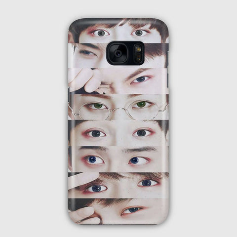 EXO Xiumin s Eyes Samsung Galaxy S7 Edge Case