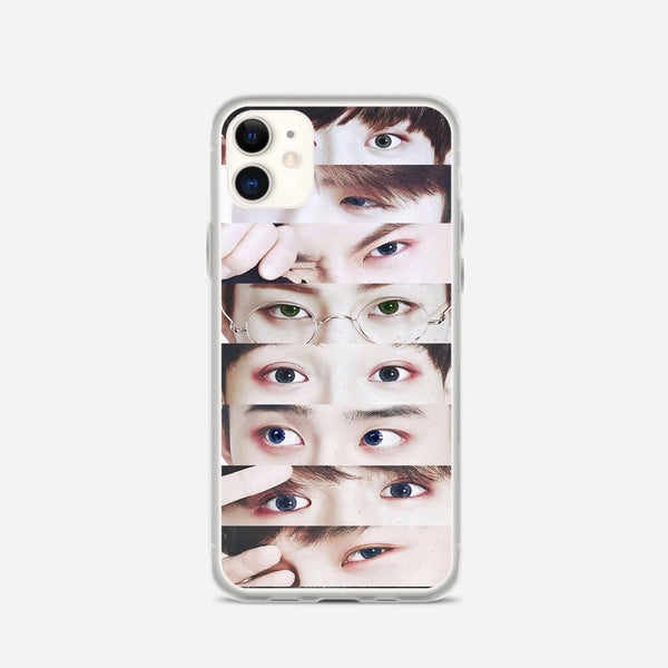 EXO Xiumin s Eyes iPhone X Case