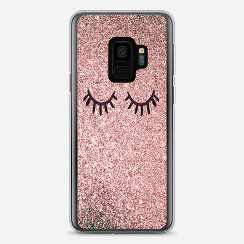 Eyes Glitter Samsung Galaxy S9 Case