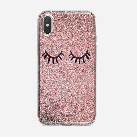 Eyes Glitter iPhone XS Case