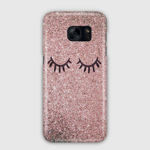 Eyes Glitter Samsung Galaxy S7 Edge Case
