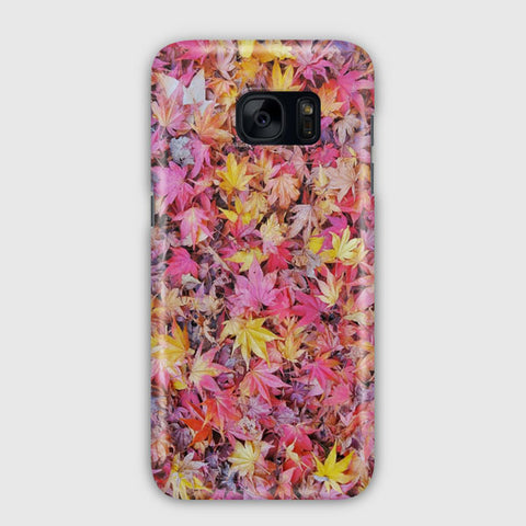 Fall Autumn Leaves And Colors Samsung Galaxy S7 Edge Case