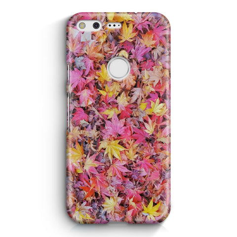 Fall Autumn Leaves And Colors Google Pixel XL Case