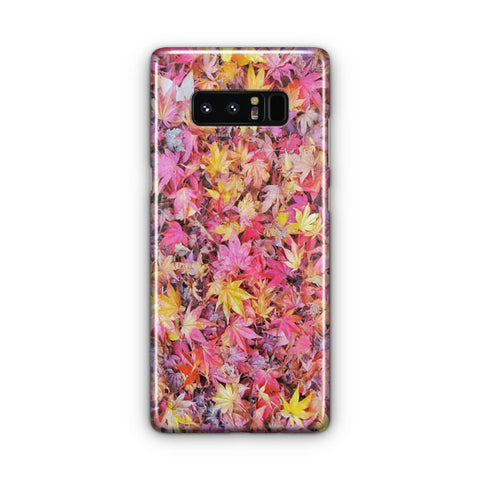 Fall Autumn Leaves And Colors Samsung Galaxy Note 8 Case