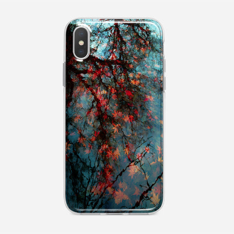 Fall Leaves iPhone XS Case