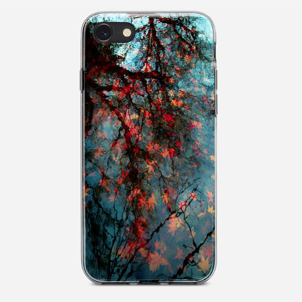 Fall Leaves iPhone X Case