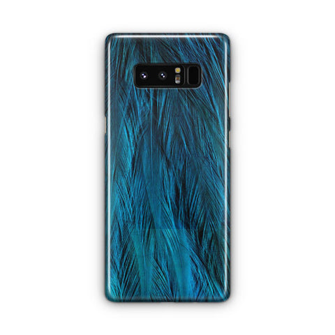 Feathers Beautiful Blue Samsung Galaxy Note 8 Case