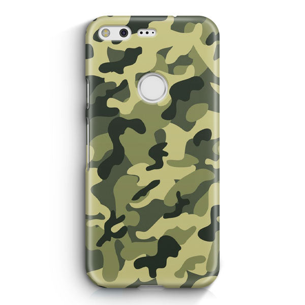 Featuring Ape Light Camouflage Pattern Google Pixel Case