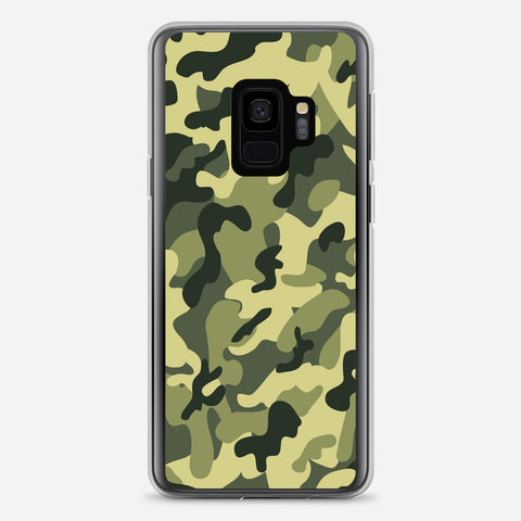 Featuring Ape Light Camouflage Pattern Samsung Galaxy S9 Case