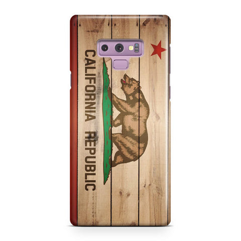 Flag Of California Samsung Galaxy Note 9 Case