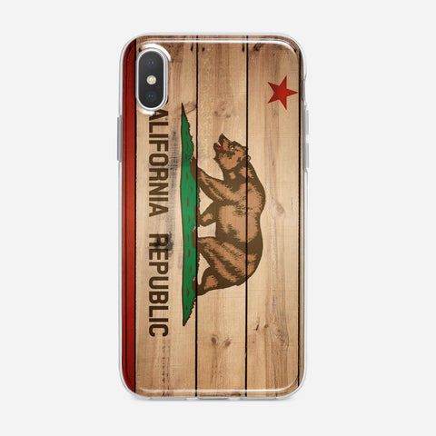 Flag Of California iPhone XS Case