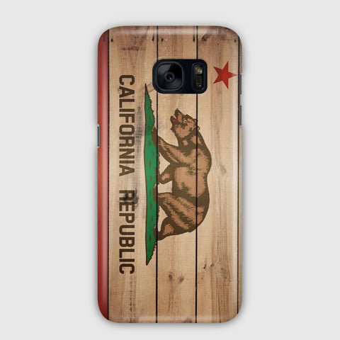 Flag Of California Samsung Galaxy S7 Edge Case