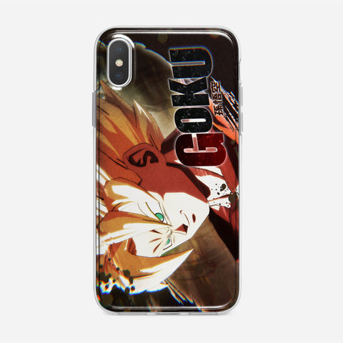 Dragon Ball Goku Super Saiyan iPhone XS Max Case