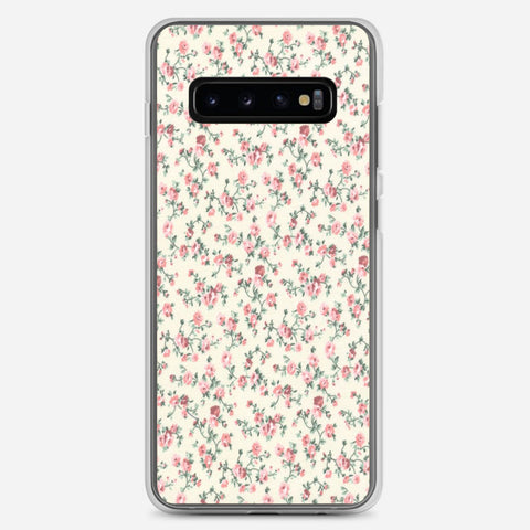 Floral Pattern Samsung Galaxy S10 Plus Case