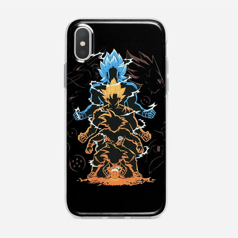Dragon Ball Super Goku Saiyan Evolution iPhone XS Max Case