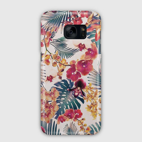 Flores Tropicales Samsung Galaxy S7 Edge Case
