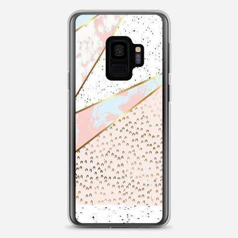 Flower Marble Samsung Galaxy S9 Case