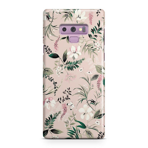 Flower Watercolor Samsung Galaxy Note 9 Case